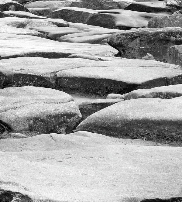 Rocks Art Print featuring the photograph Challenge by Barbara Palmer