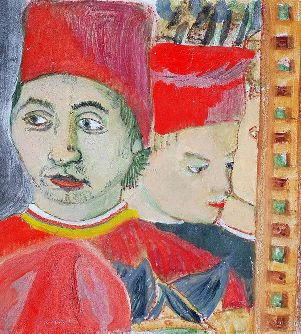 Italian Art Print featuring the painting Fratello by Kurt Hausmann