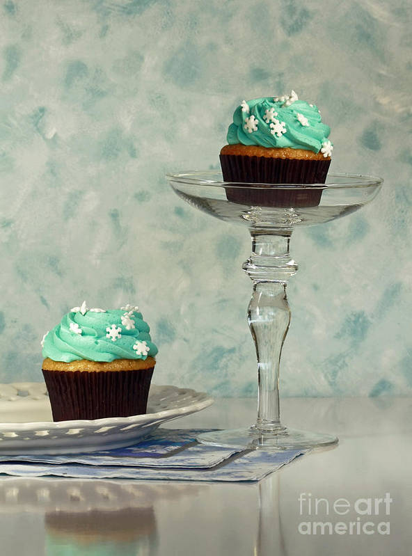 Cupcake Frenzy Art Print featuring the photograph Cupcake Frenzy by Inspired Nature Photography Fine Art Photography