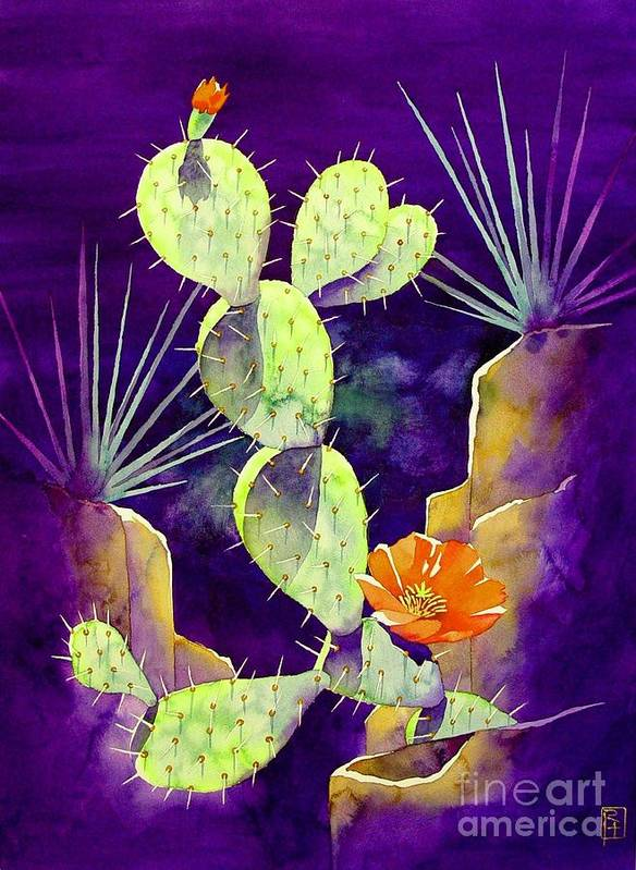 Watercolor Art Print featuring the painting Morning Light by Robert Hooper