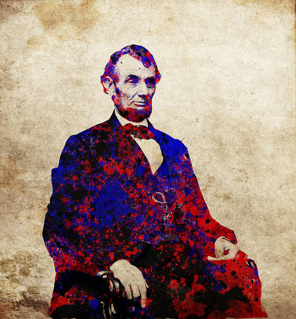 Abraham Lincoln Art Print featuring the painting Abraham Lincoln by Bekim M