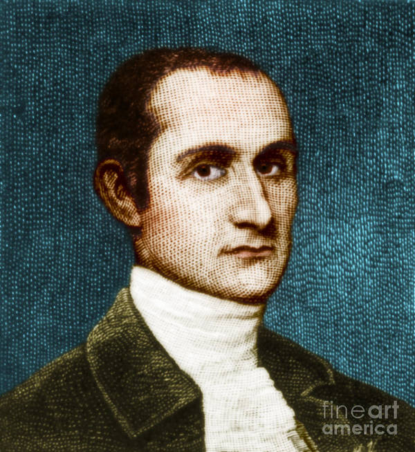 History Art Print featuring the photograph John Jay, American Founding Father by Photo Researchers