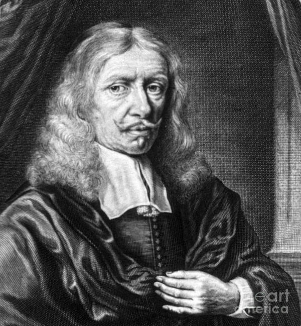 Science Art Print featuring the photograph Johannes Hevelius, Polish Astronomer by Science Source