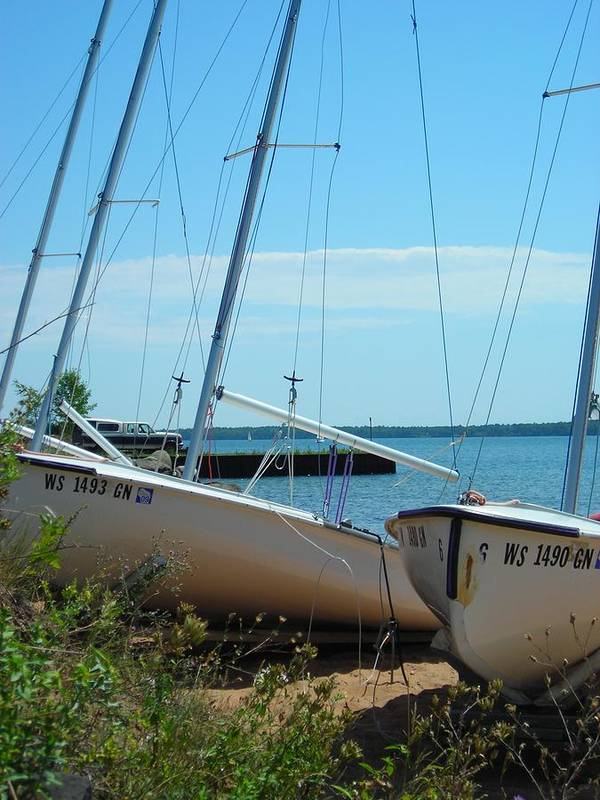 Boats Art Print featuring the photograph Beached by Peter Mowry