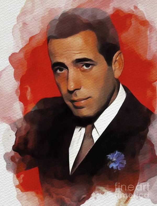 Humphrey Bogart, Hollywood Legend by Esoterica Art Agency