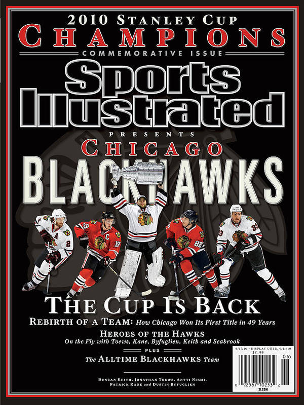 Playoffs Art Print featuring the photograph 2010 Stanley Cup Finals Sports Illustrated Cover by Sports Illustrated