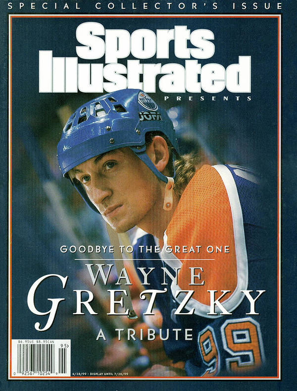 National Hockey League Art Print featuring the photograph Wayne Gretzky Goodbye To The Great One, A Tribute Sports Illustrated Cover by Sports Illustrated