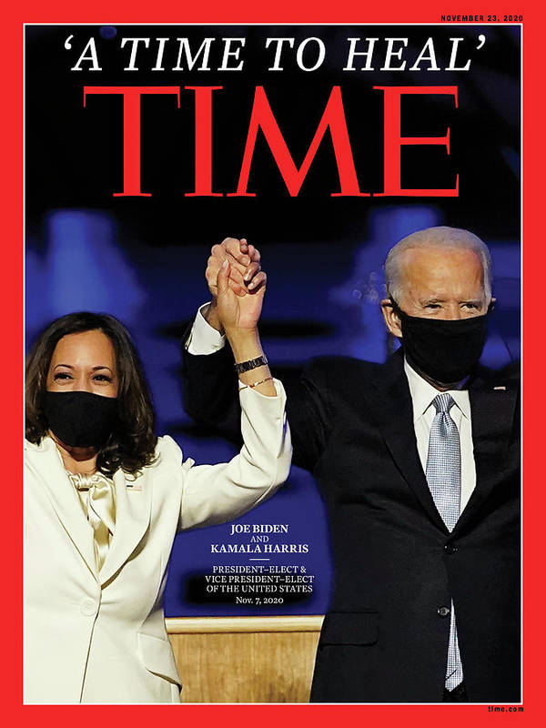 President Elect Biden Art Print featuring the photograph A Time To Heal by Time