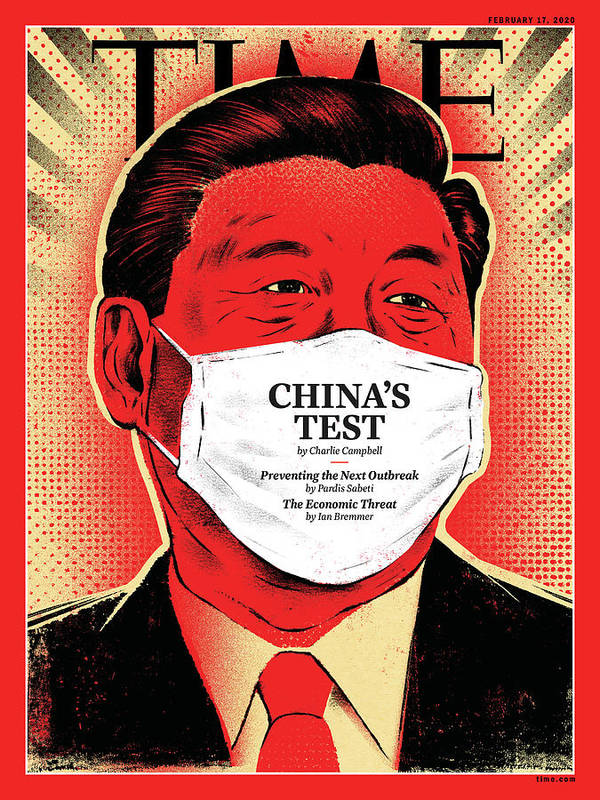 China Art Print featuring the photograph China's Test by Illustration by Edel Rodriguez for TIME