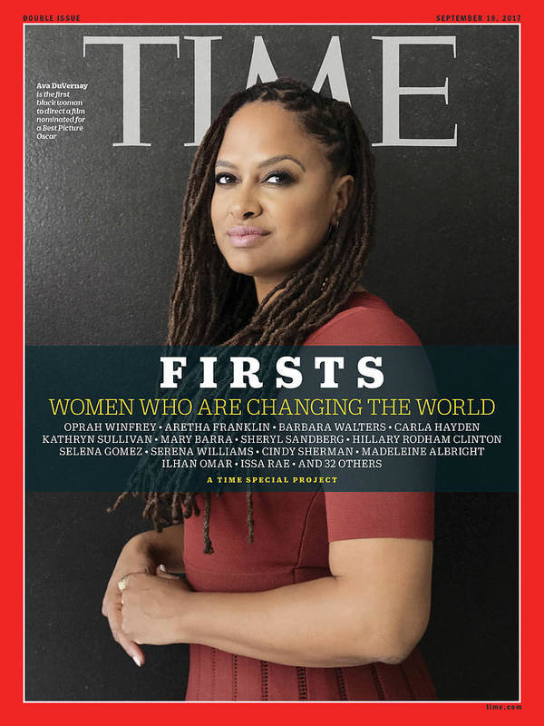 Ava Duvernay Art Print featuring the photograph Firsts - Women Who Are Changing the World, Ava Duvernay by Photograph by Luisa Dorr for TIME