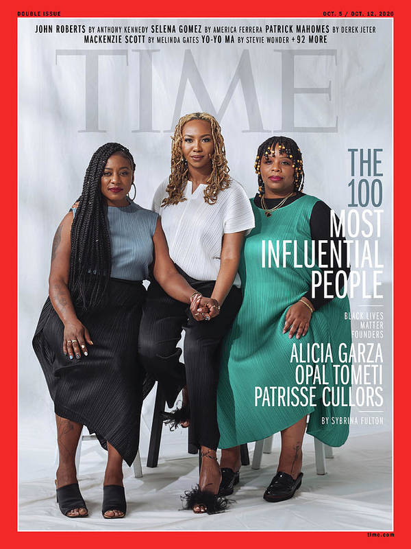 Time 100 Most Influential People Art Print featuring the photograph TIME 100 - BLM Women by Photograph by Kayla Reefer for TIME