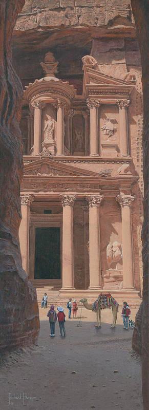 The Treasury Petra Jordan by Richard Harpum