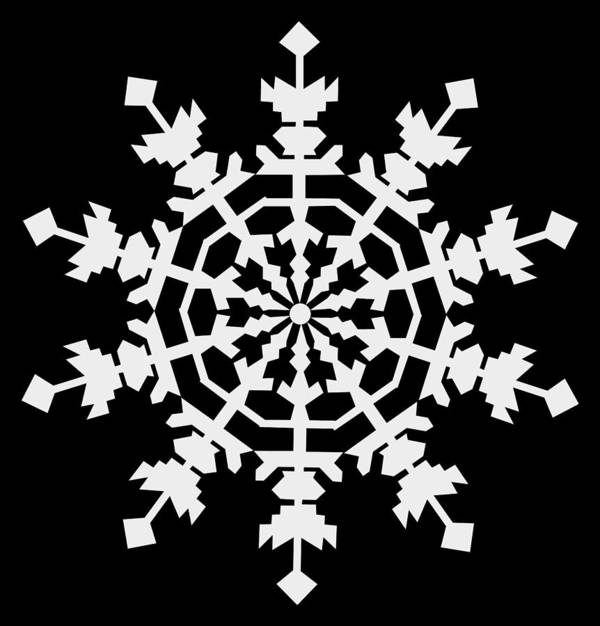 1 Ice Crystals In Light Gray Seen Through An Electron Microscope Might Inspire You To Have A Merry Christmas Art Print featuring the digital art 1 Ice Crystals in Light Gray seen through an Electron Microscope might inspire you to have a Merry C by Asbjorn Lonvig