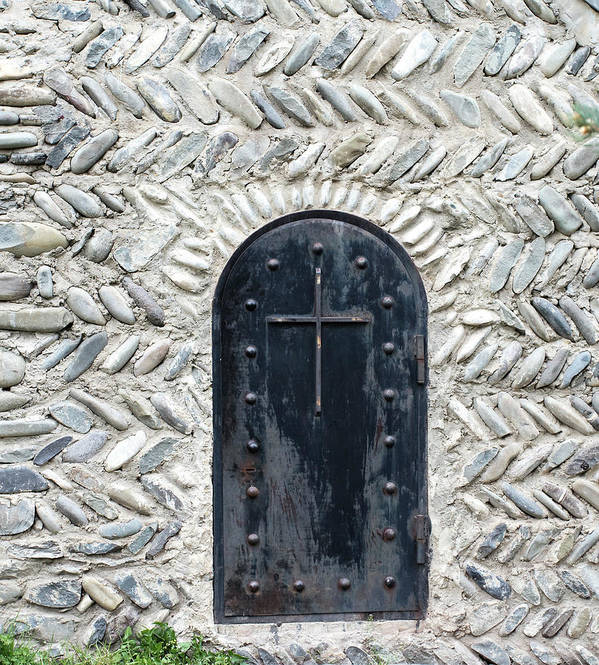 Arch Art Print featuring the photograph Medieval Door by ????? ???????