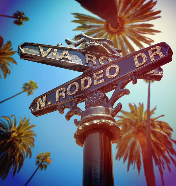 Beverly Hills Art Print featuring the photograph Beverly Hills California by Lpettet