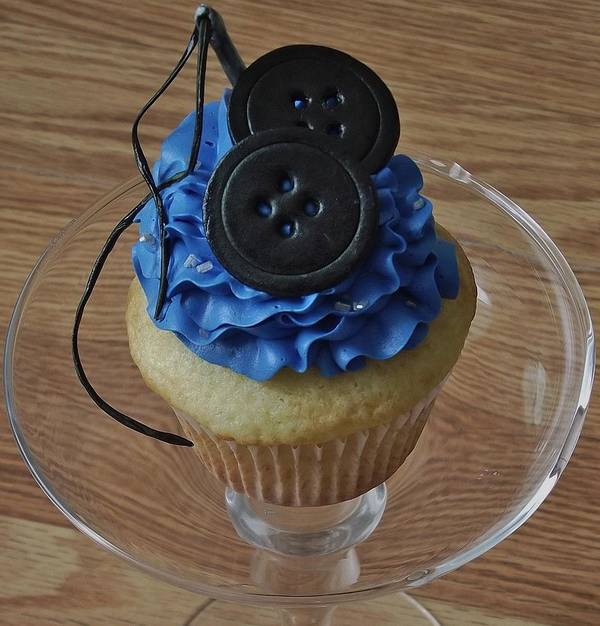 Coraline Inspired Cupcake Art Print By Mia Bella Cupcakes