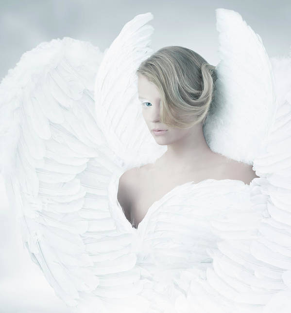 People Art Print featuring the photograph Angel by Colin Anderson