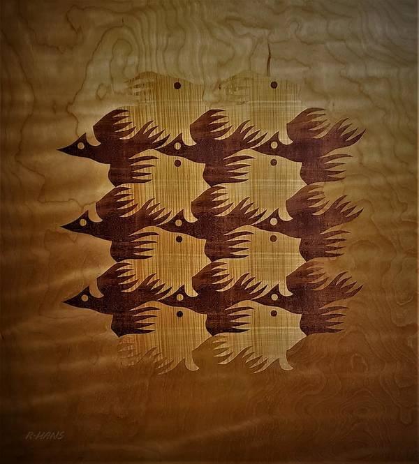 Maurits Cornelis Escher Art Print featuring the photograph Escher 81 by Rob Hans