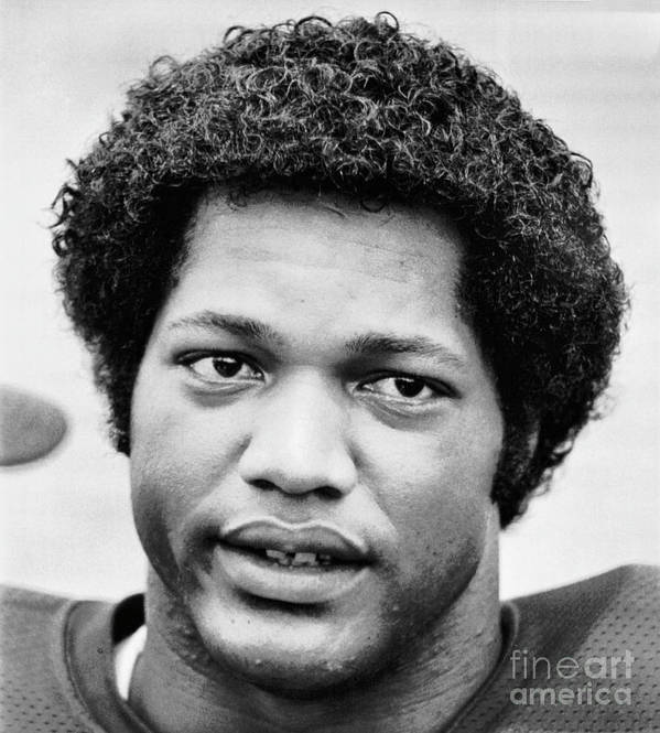 1980-1989 Art Print featuring the photograph Ron Simmons Of Florida State University by Bettmann