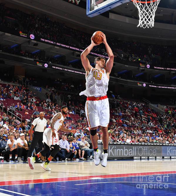 Nba Pro Basketball Art Print featuring the photograph Kris Humphries by Jesse D. Garrabrant