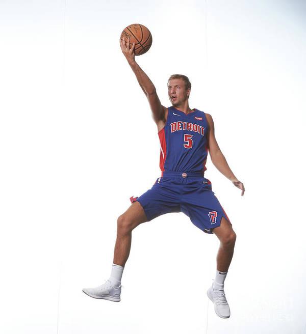 Nba Pro Basketball Art Print featuring the photograph Luke Kennard by Nathaniel S. Butler