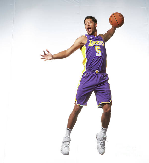 Nba Pro Basketball Art Print featuring the photograph Josh Hart by Nathaniel S. Butler