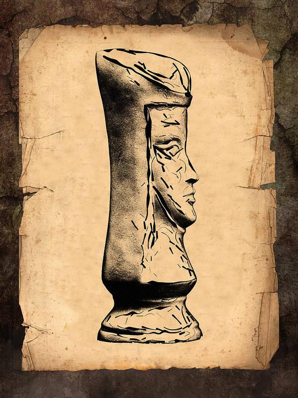 Queen Art Print featuring the photograph Chess Queen by Tom Mc Nemar