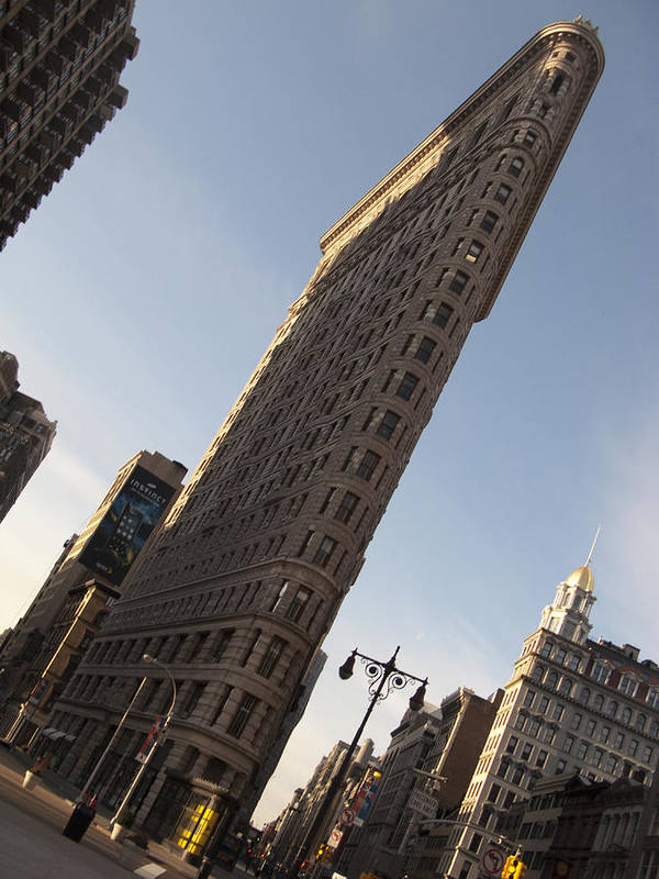 Sky Art Print featuring the photograph Flatiron No 2 by Dan Andersson