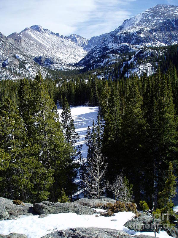 Moutains Art Print featuring the photograph Majestic by Lindsay Felty