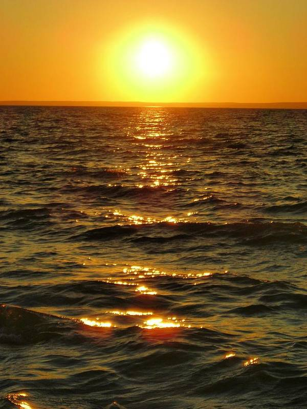 Sunset Art Print featuring the photograph Sunset by Peter Mowry