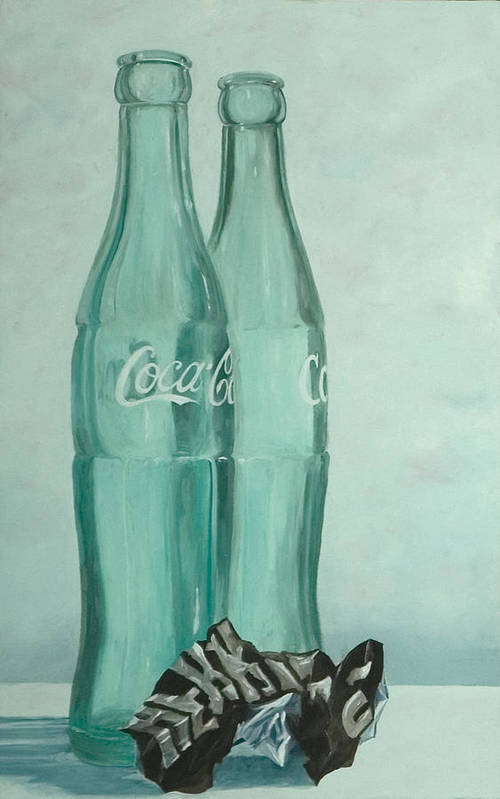 Contemporary Realism Art Print featuring the painting Sugar Rush by Robert Smith