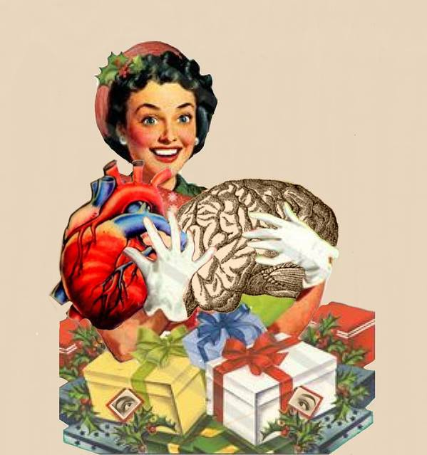 Art Print featuring the digital art Hearts And Minds by Alan McCormick