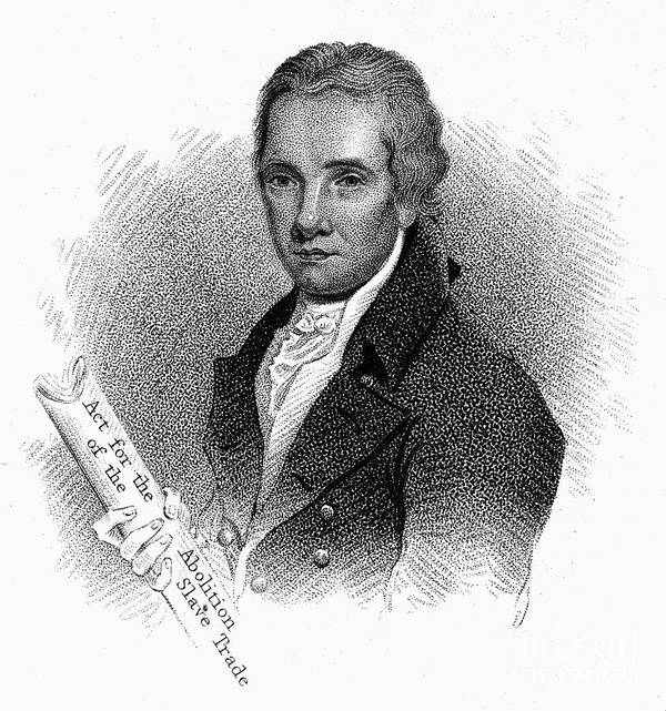 1822 Print featuring the photograph William Wilberforce by Granger