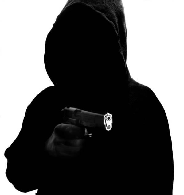 Human Art Print featuring the photograph Gun Crime by Kevin Curtis