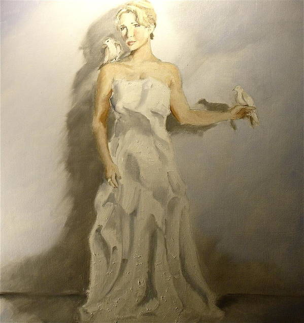 Portrait Art Print featuring the painting Peace by James Henderson