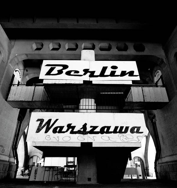 Berlin Art Print featuring the photograph Berlin To Warsaw Frame 1 by Derek Moore