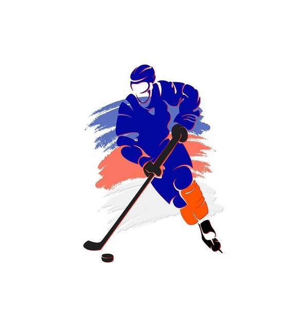Islanders Art Print featuring the photograph New York Islanders Player Shirt by Joe Hamilton