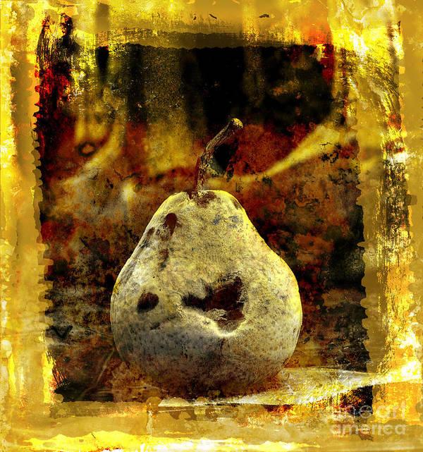 Art Art Print featuring the photograph Pear by Bernard Jaubert