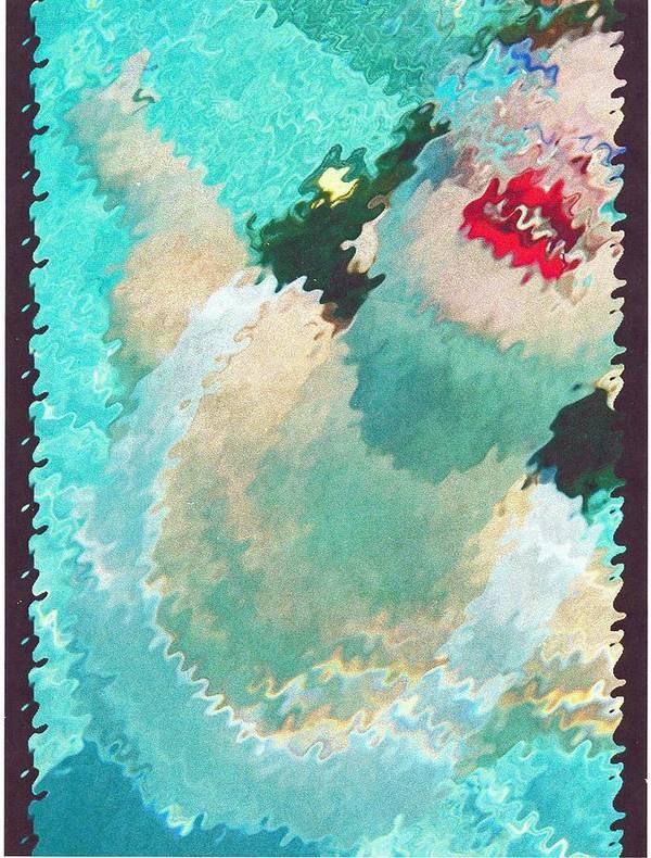 Art Print featuring the photograph Greta Under by Mariela SAndoval
