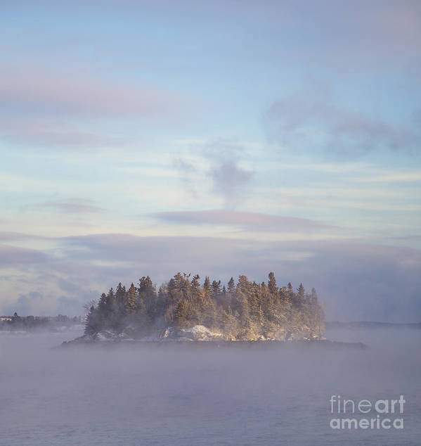 Fog Art Print featuring the photograph Fogscape by Evelina Kremsdorf