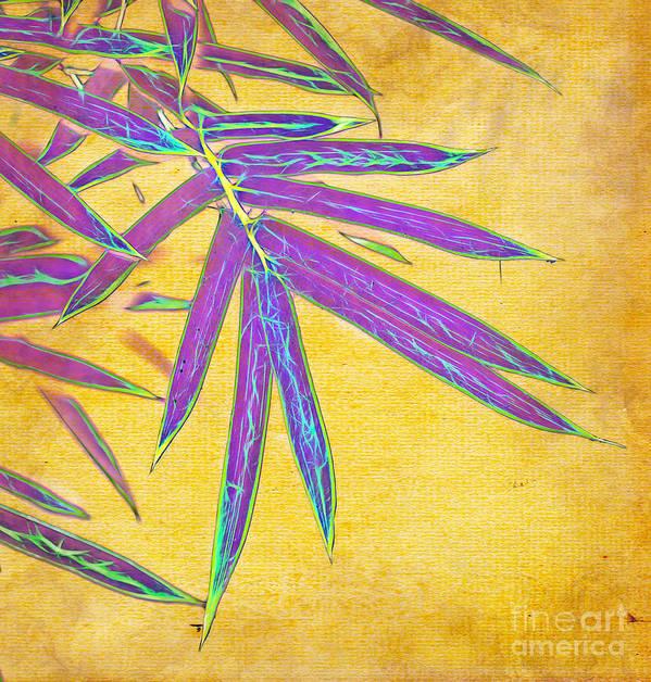 Bamboo Art Print featuring the photograph Bamboo Batik II by Judi Bagwell
