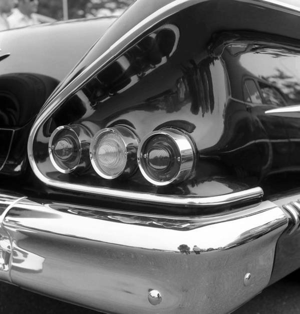 Car Art Print featuring the photograph Chevy Impala by Richard Singleton