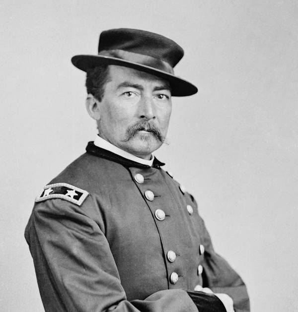 General Art Print featuring the photograph General Sheridan by War Is Hell Store
