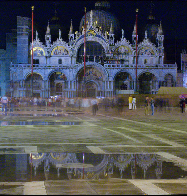 Venice Art Print featuring the photograph St. Mark's by Michael Henderson