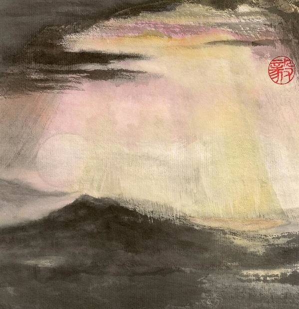 Japanese Art Print featuring the painting Hope by Terri Harris