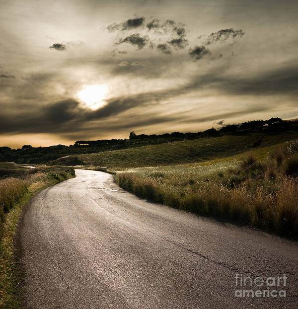 The Road Print featuring the photograph The Road by Boon Mee