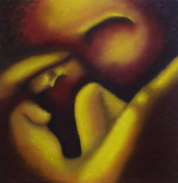 Figure Art Print featuring the painting Reborn by Elizabeth Lisy Figueroa