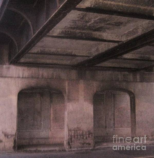Tunnel Art Print featuring the photograph Tunnel by Reb Frost