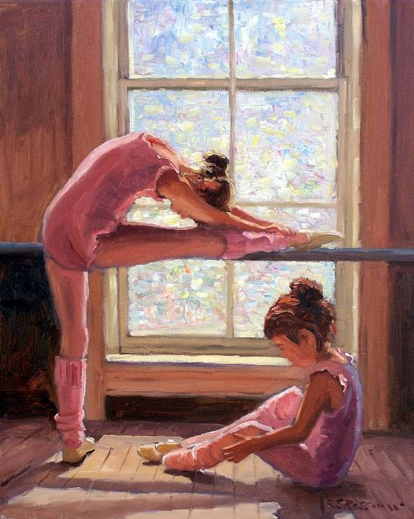 Little Ballerinas by Roelof Rossouw