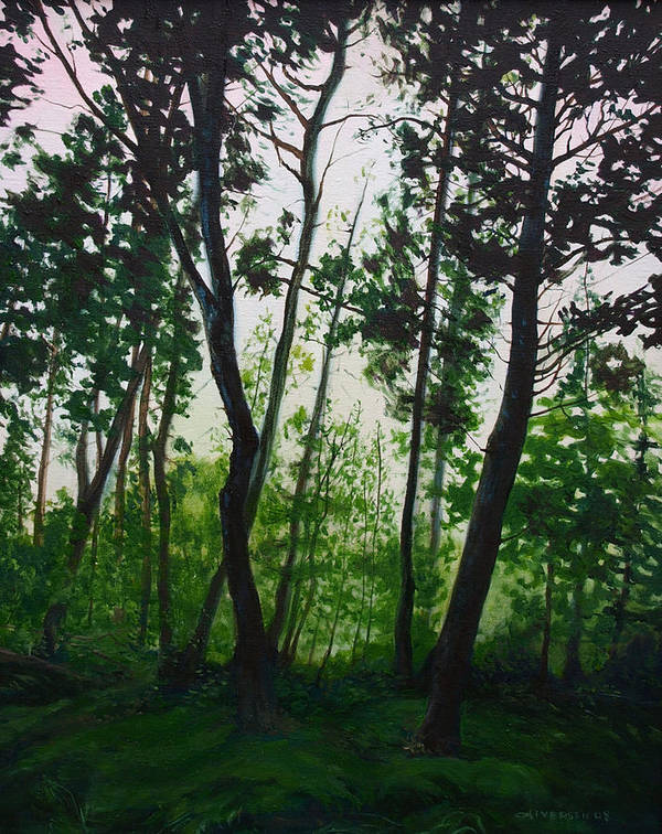 Fen Art Print featuring the painting The Fen by Jill Iversen